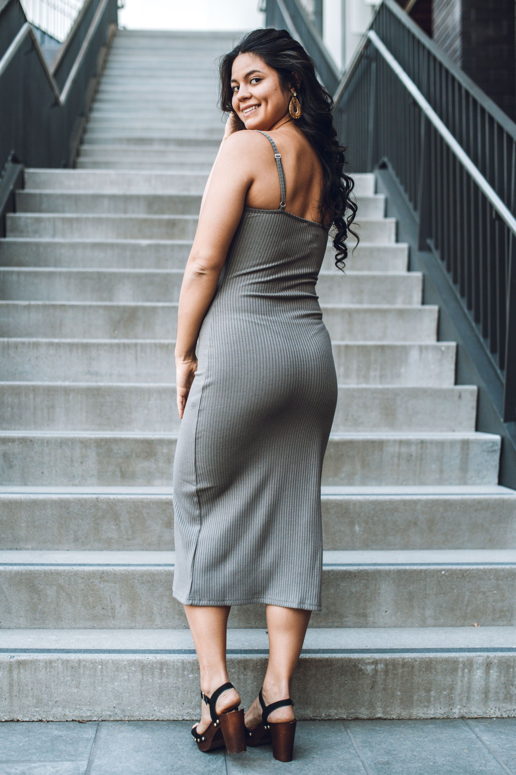 Pure Intentions Midi Dress