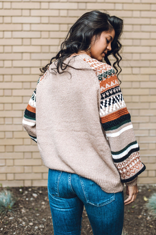Retro Feel Sweater