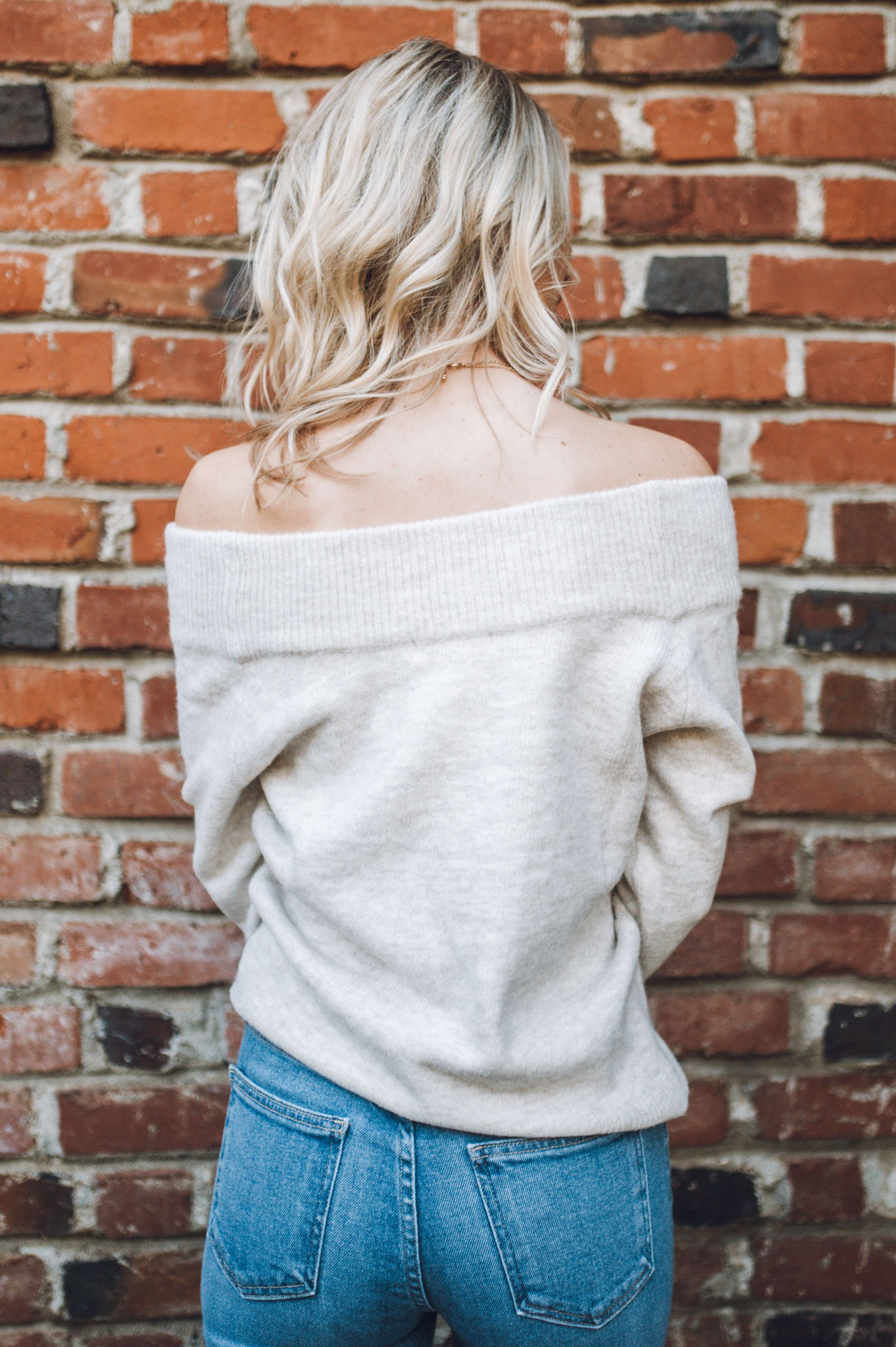 Time To Unwind Off-The Shoulder Sweater
