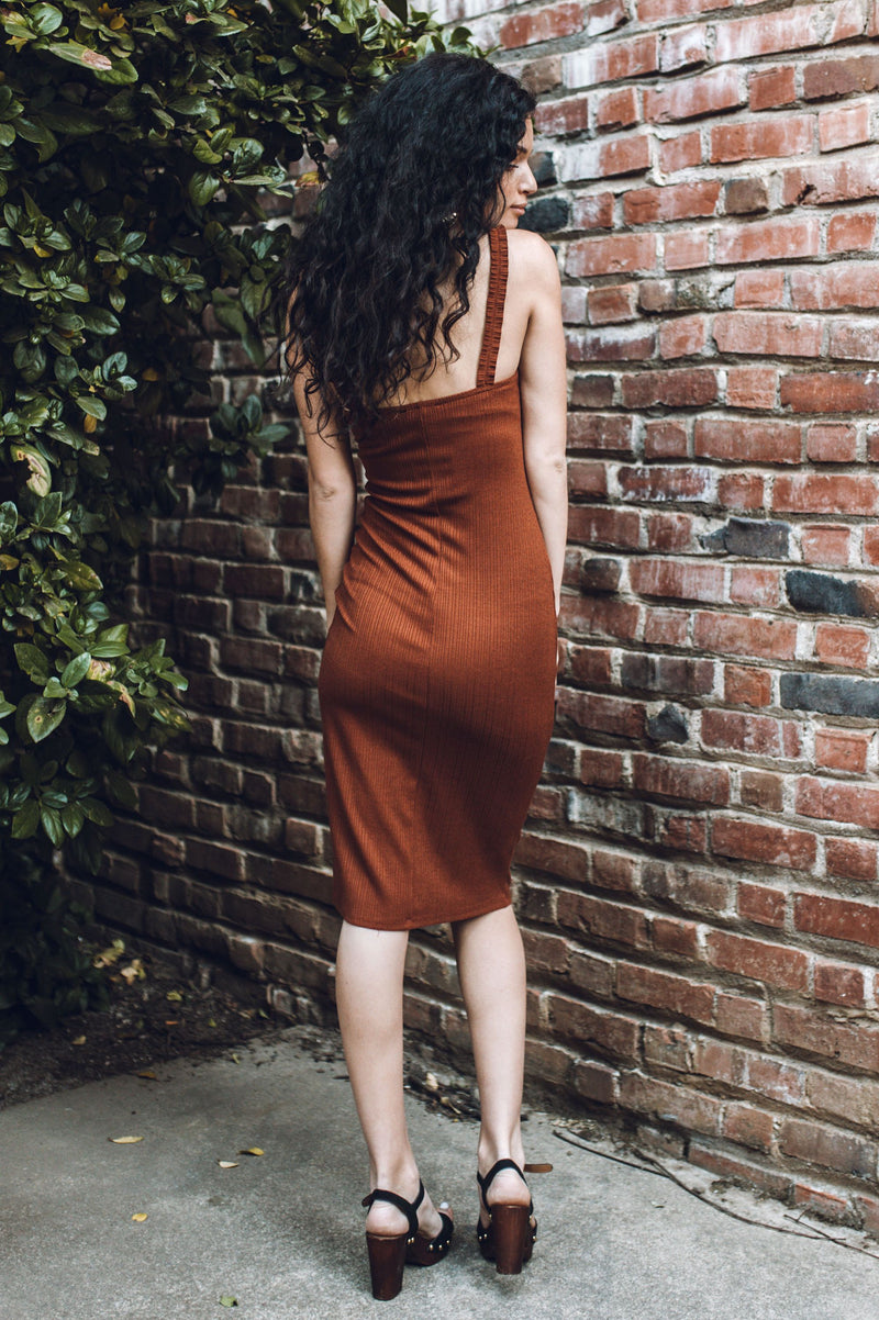 Long Way Home Midi Dress
