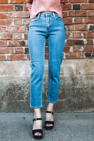 Lillian's Straight Denim Jeans