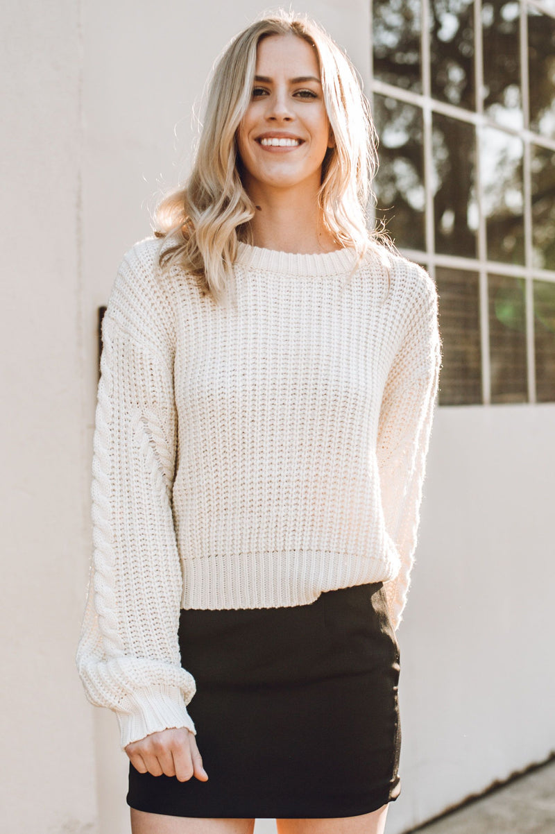 Suave Knit Sweater