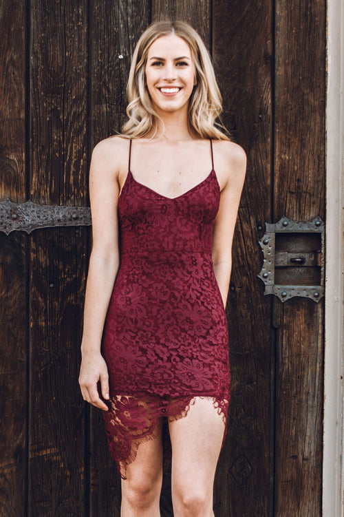 Laced With Love Dress