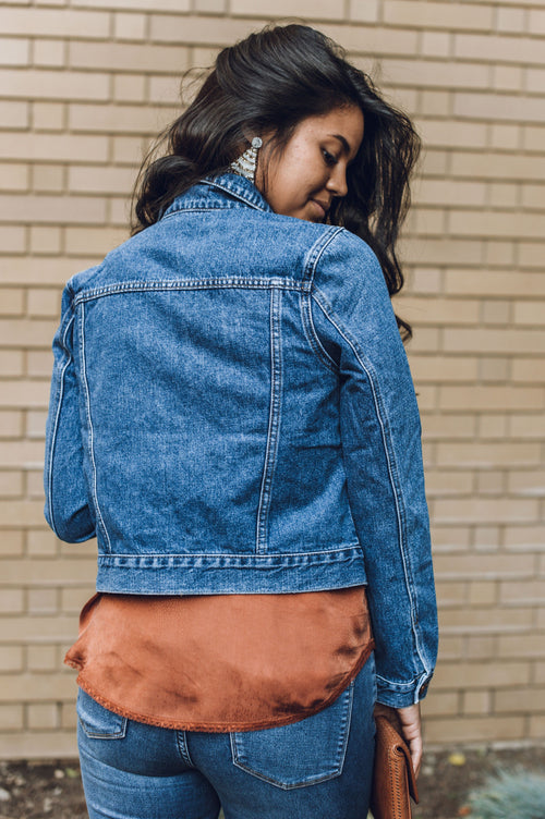 One Good Reason Jean Jacket