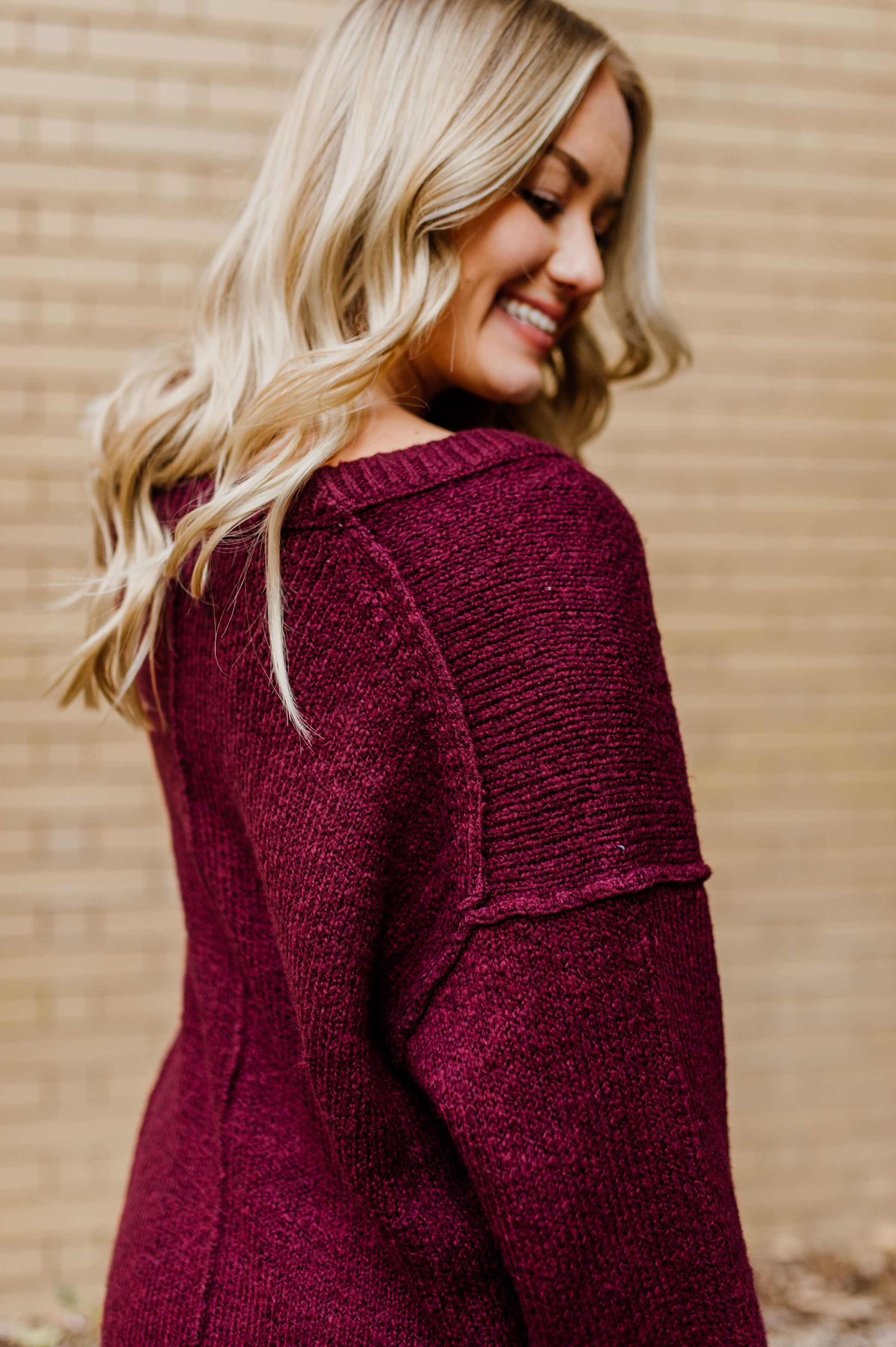 Brookside Tunic Sweater