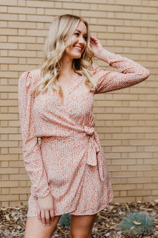 Pretty Palette Wrap Dress