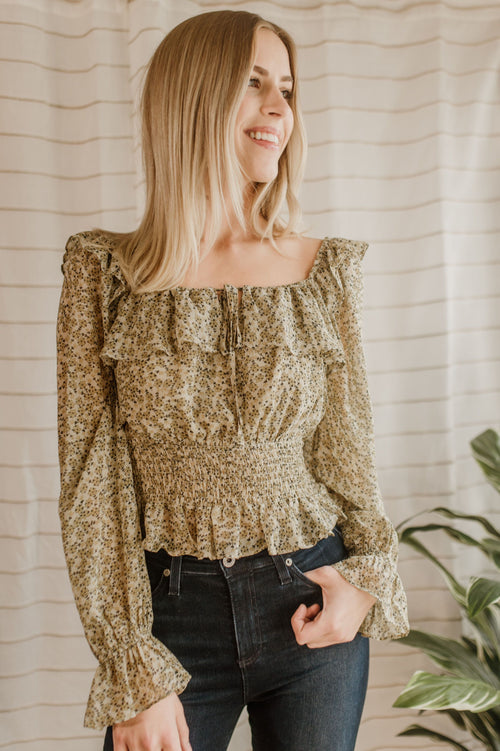 Spokane Ruffled Blouse