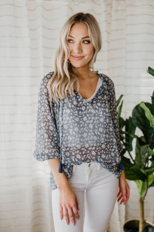 Cross My Heart Blouse