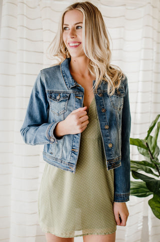 Bailey's Denim Mini Skirt