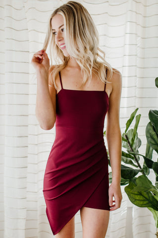 Want It All Wrap Dress