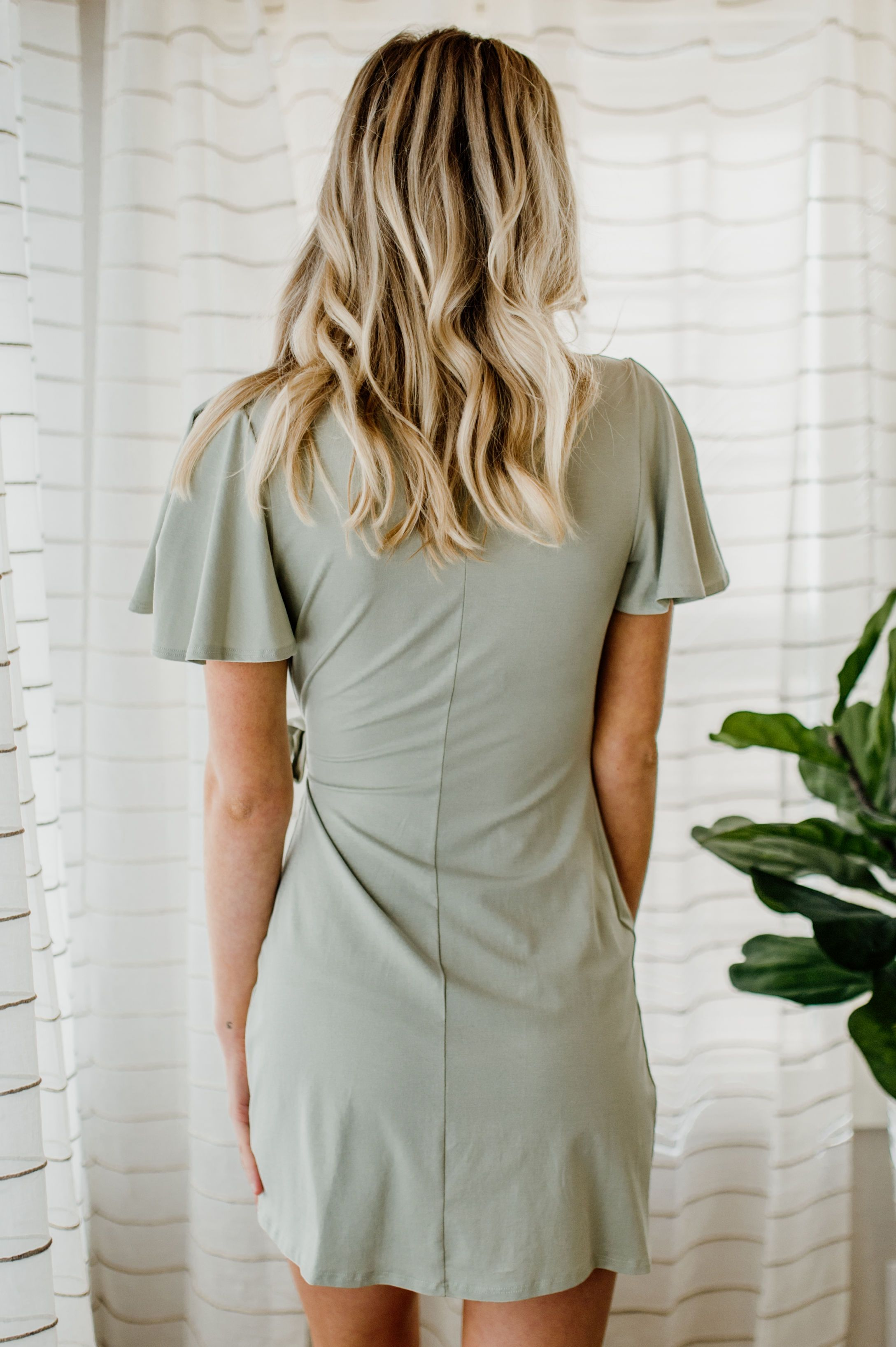 Well Worn Wrap Dress