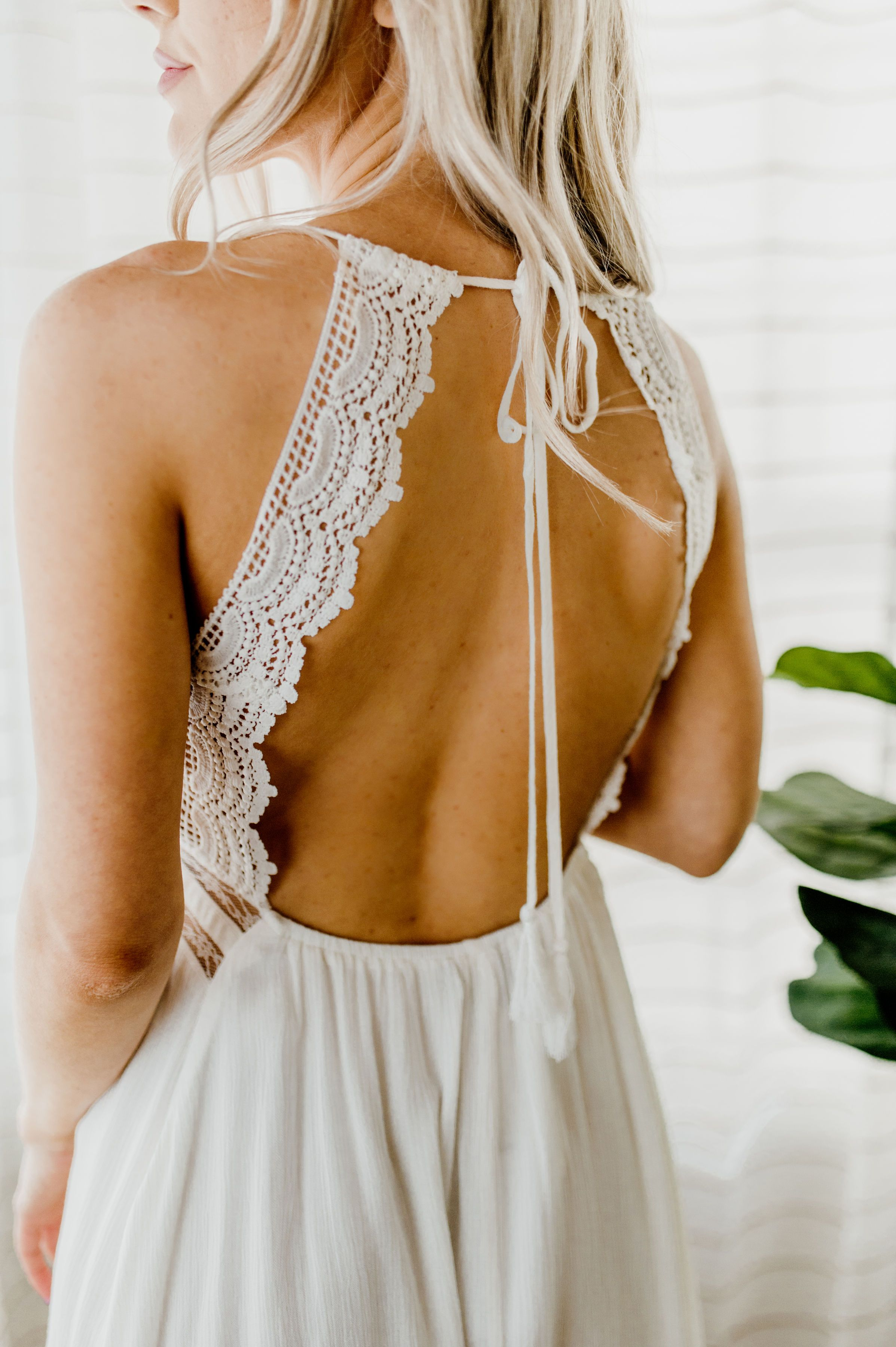 Clean For Spring Lace Dress
