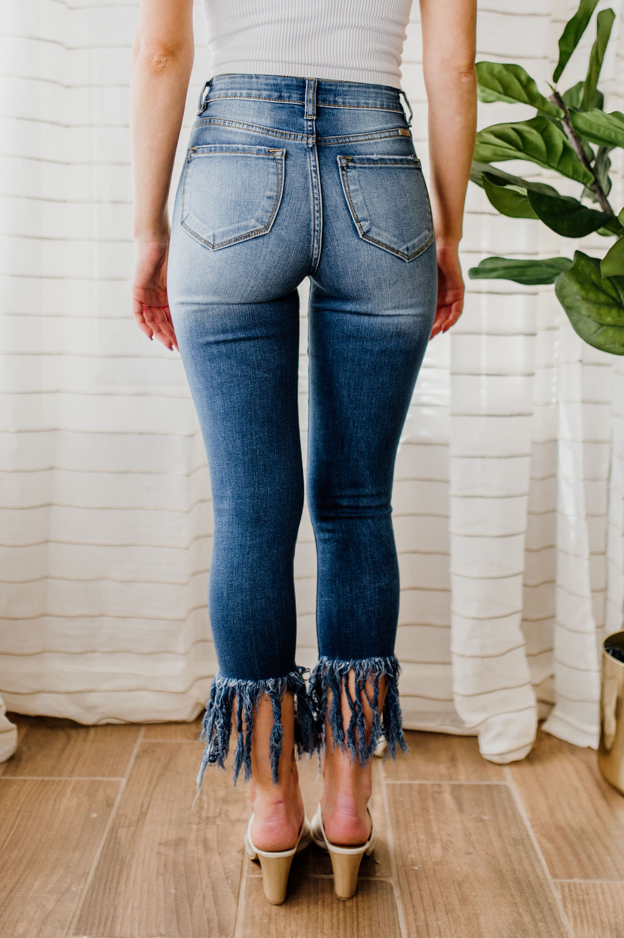 Social Hour High Rise Skinny