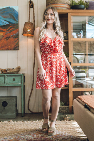 Full Bloom Mini Dress