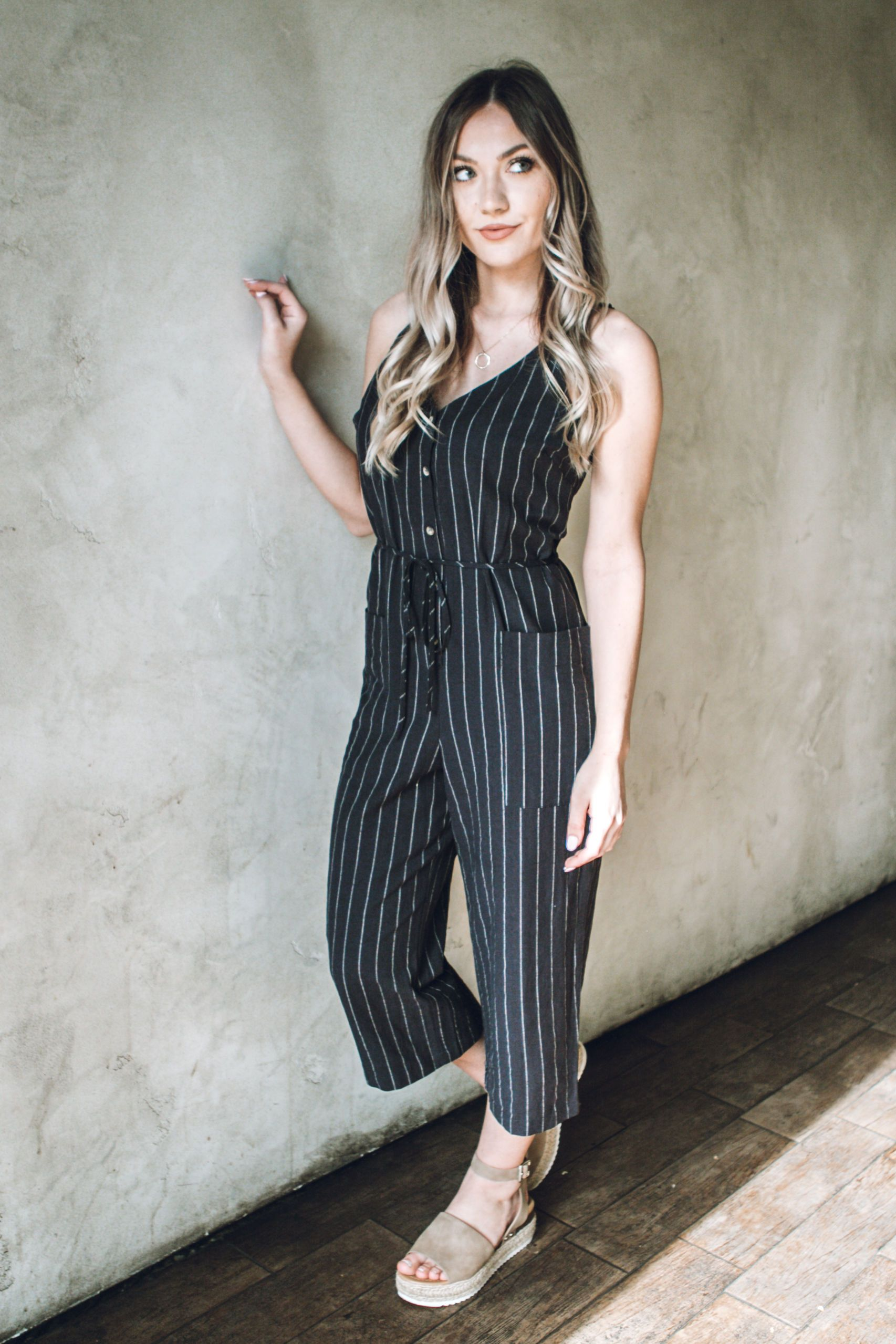 Put A Stripe On It Jumpsuit