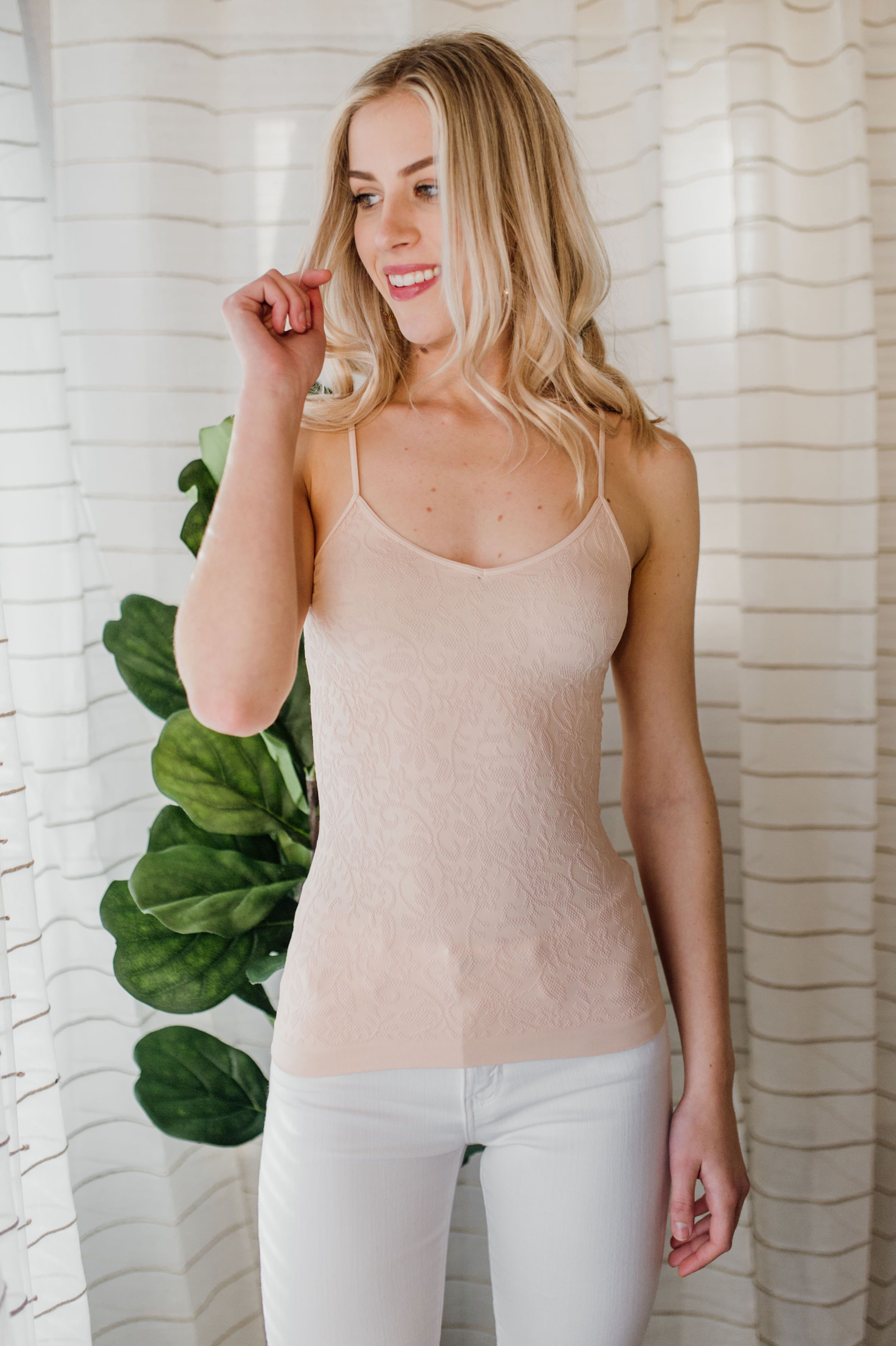 Lace V-Neck Cami