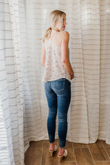 Blooming Orchid Lace Top