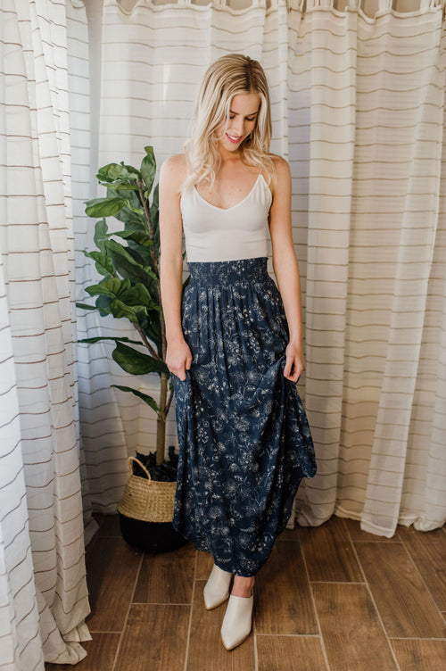 Winding Down Maxi Skirt