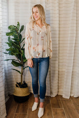 Fields Of Floral Blouse