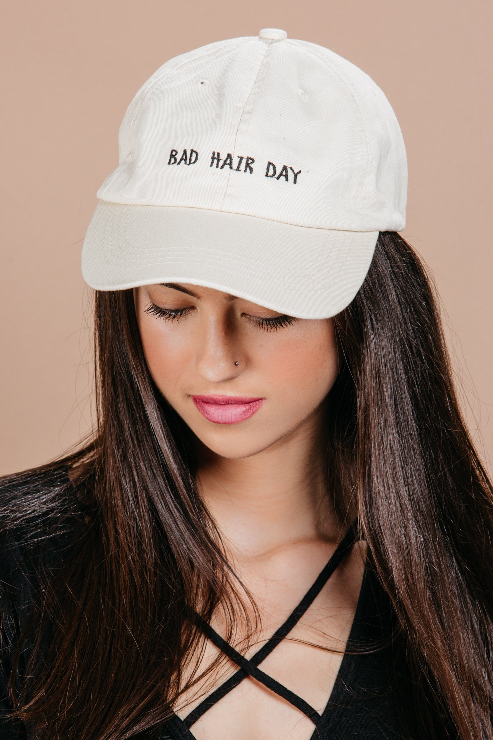 Bad Hair Day Cap- Accessories- Hats- Casual Caps- For Elyse 85a38b45473