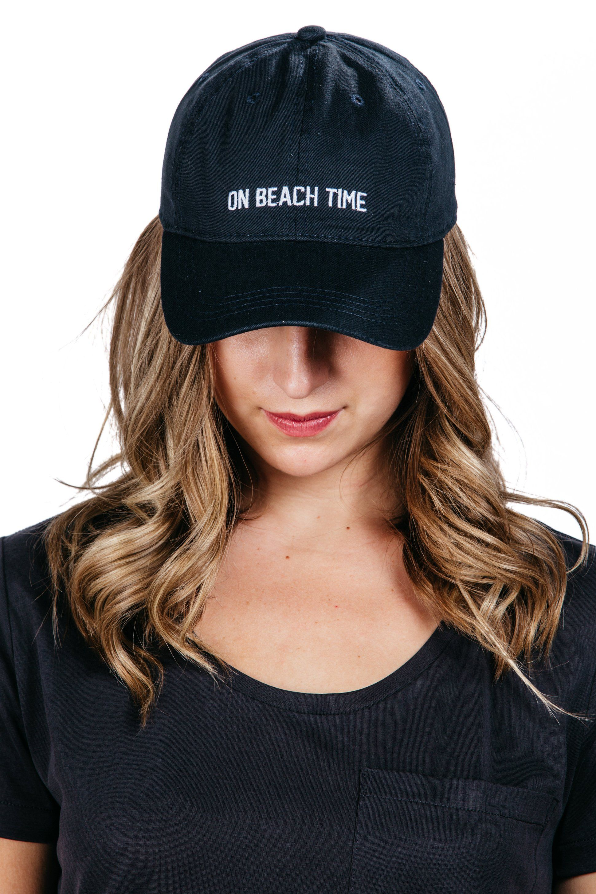 On Beach Time Cap