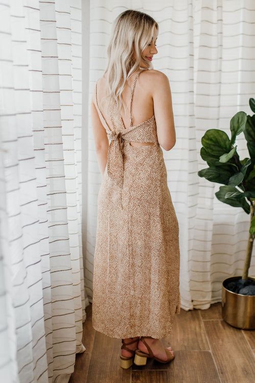 Taste Of The Wild Slip Dress