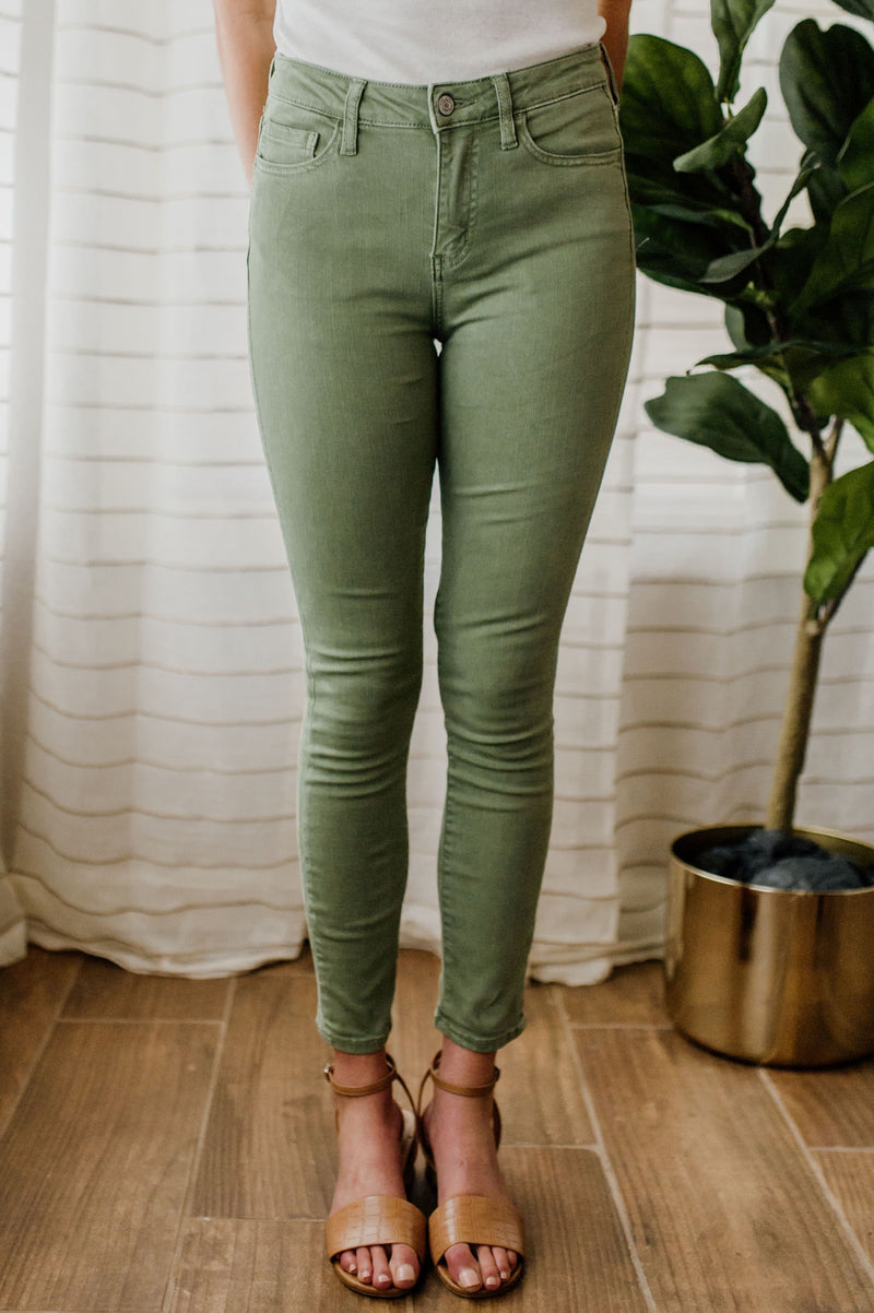 Hailey's High-Rise Skinny Pants