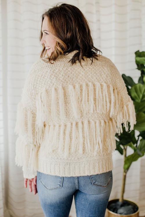 Sweet Vanilla Sweater