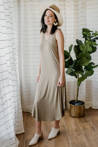 Next To You Midi Dress