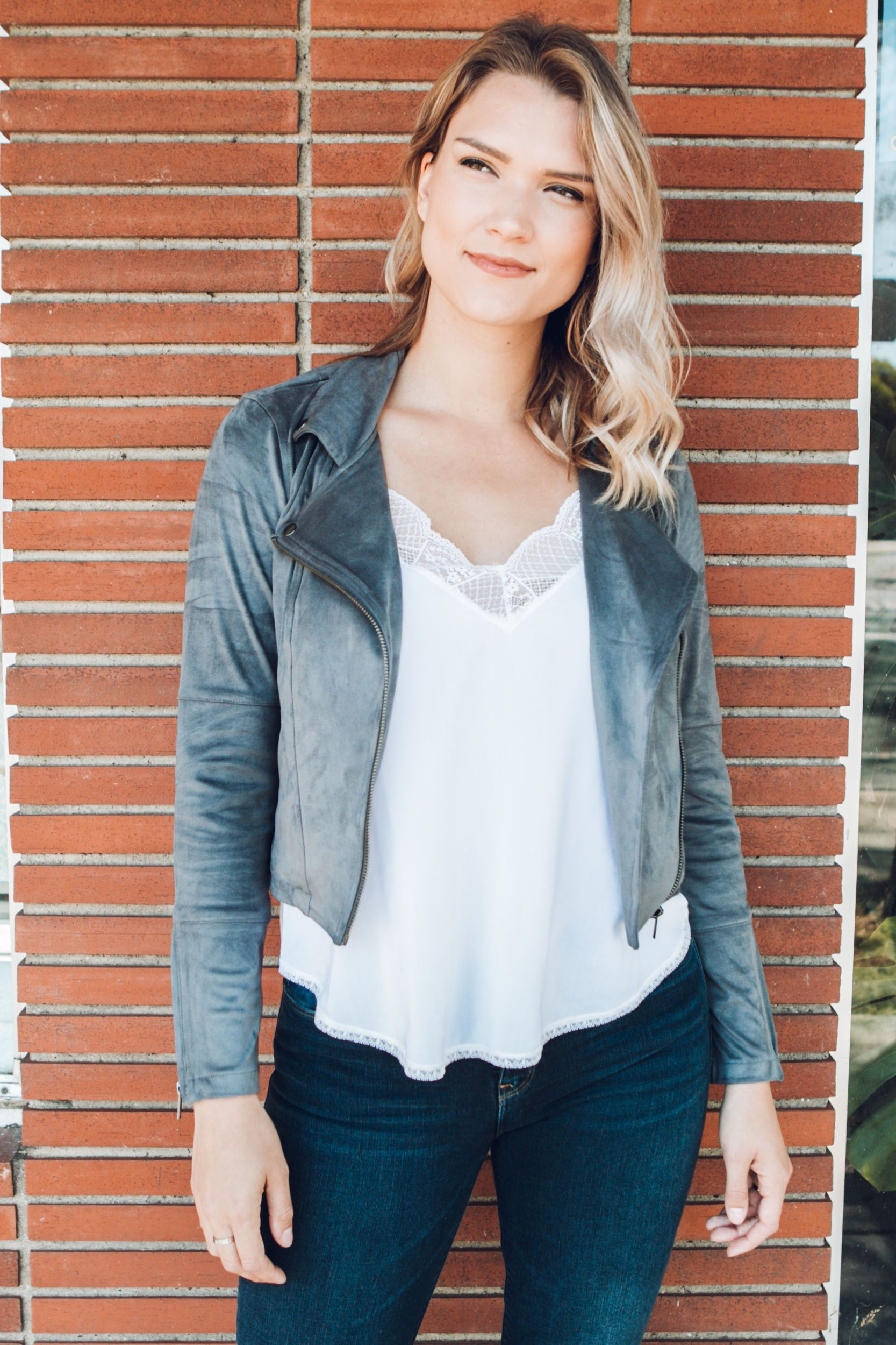Simply Chic Suede Jacket