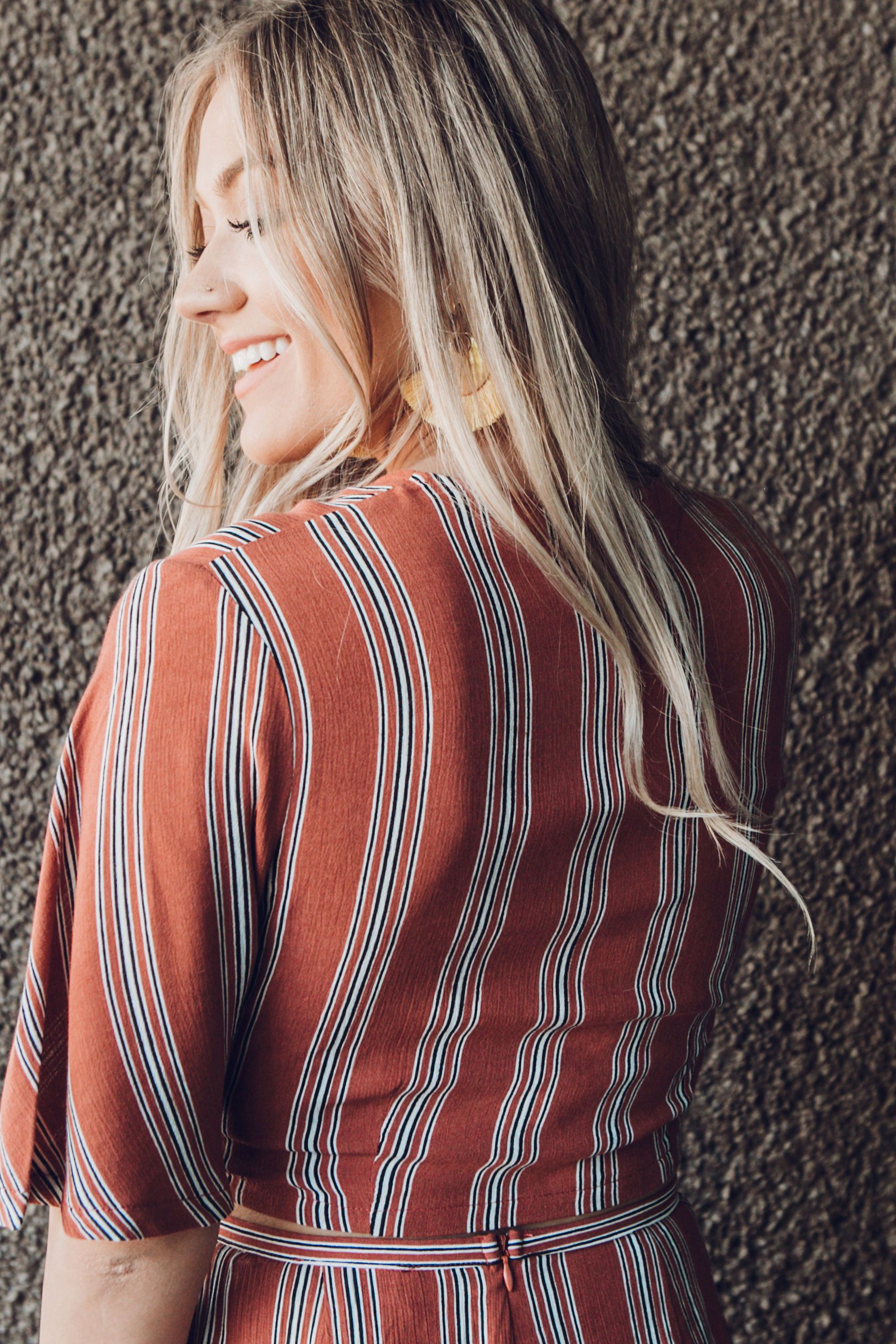 Sunkissed Stripes Top