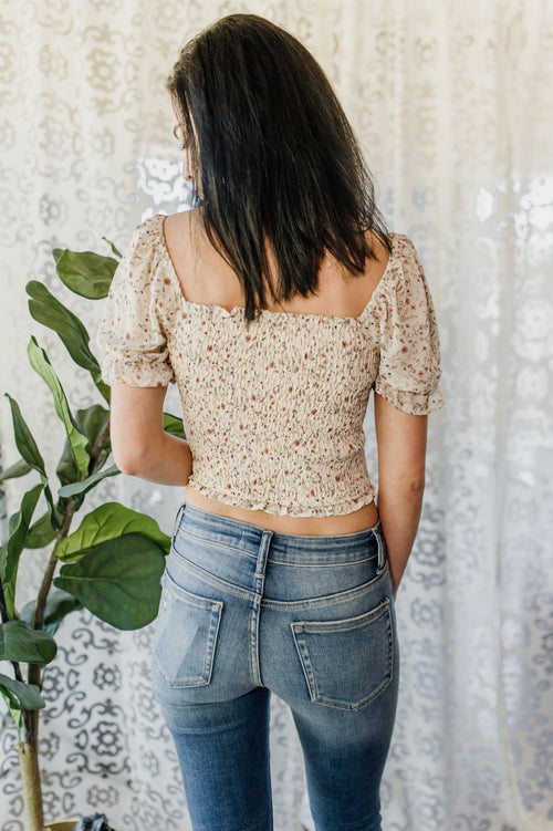 Living In Floral Top