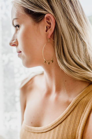 Grey Stone Sunset Lover Earrings