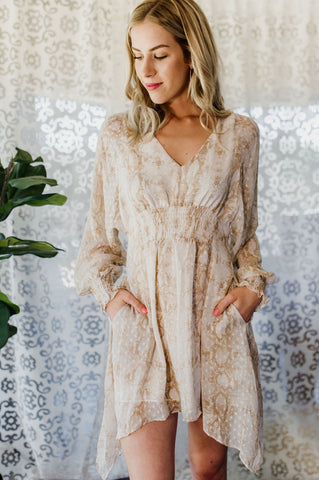 Feelin' Pretty Wrap Dress