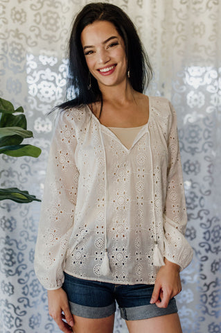 The All-Inclusive Lace Top