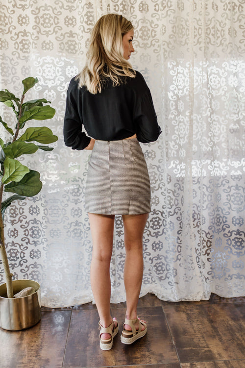 Ring A Bell Mini Skirt