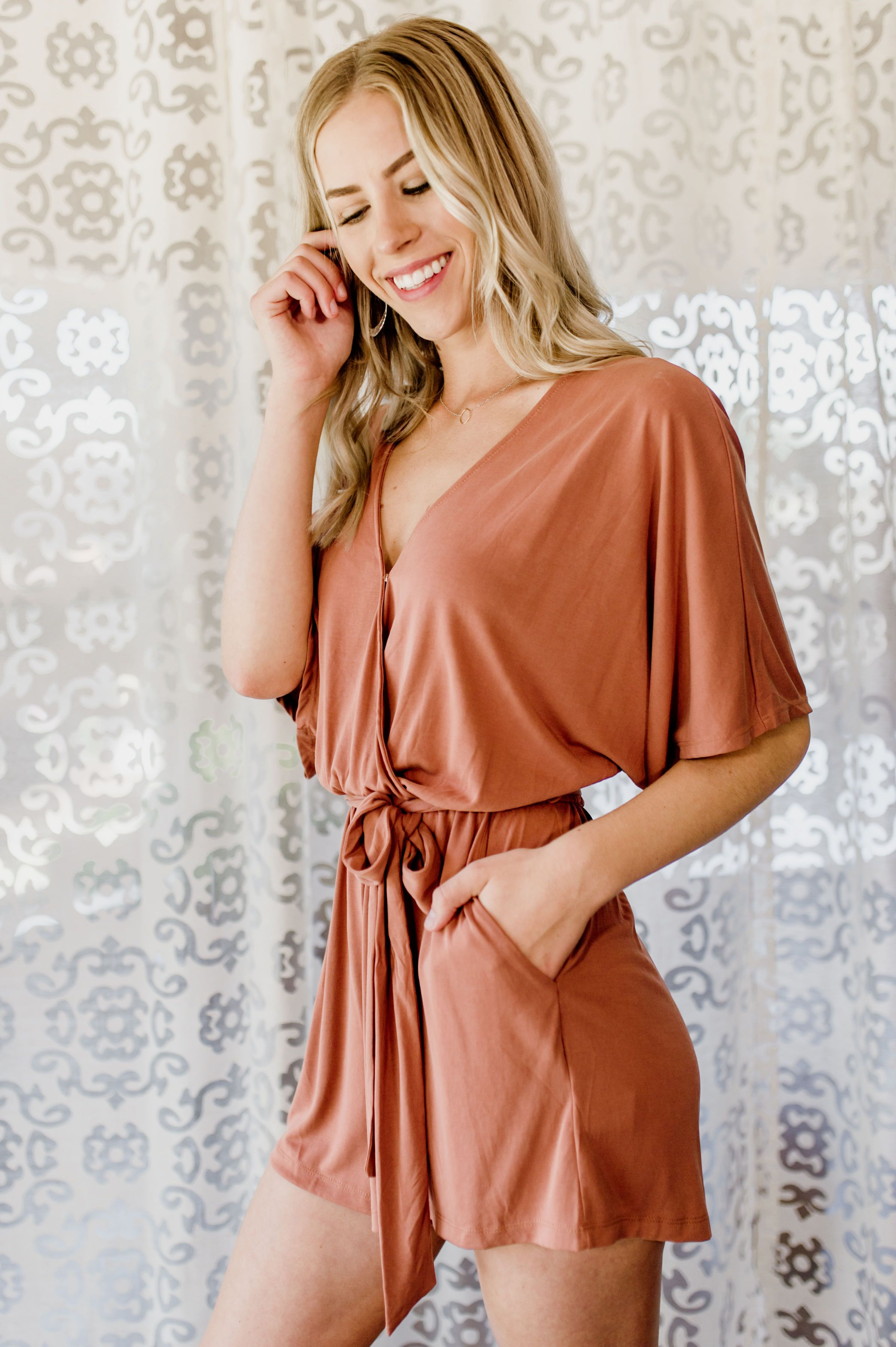 End Of Story Romper