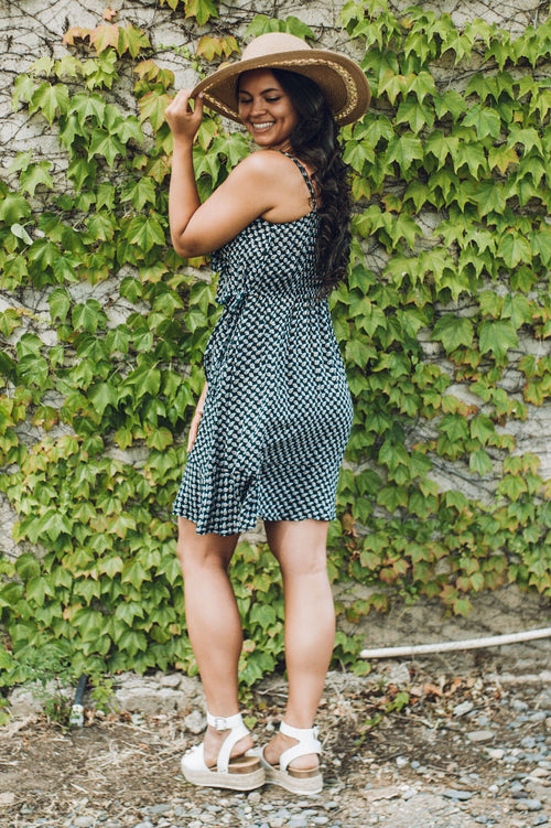 Emerald City Wrap Dress