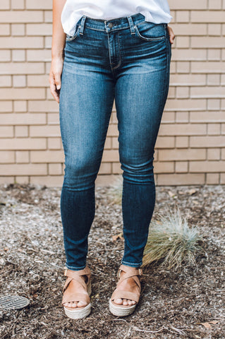 The Riley Distressed Frayed Jeans