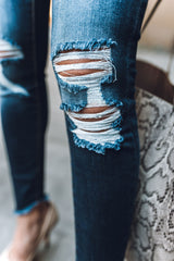 College Girl Mid-Rise Jeans