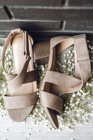 Bohemian Wedge - White