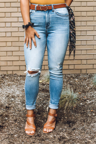 FM Kimmy Black High Waisted Jeans