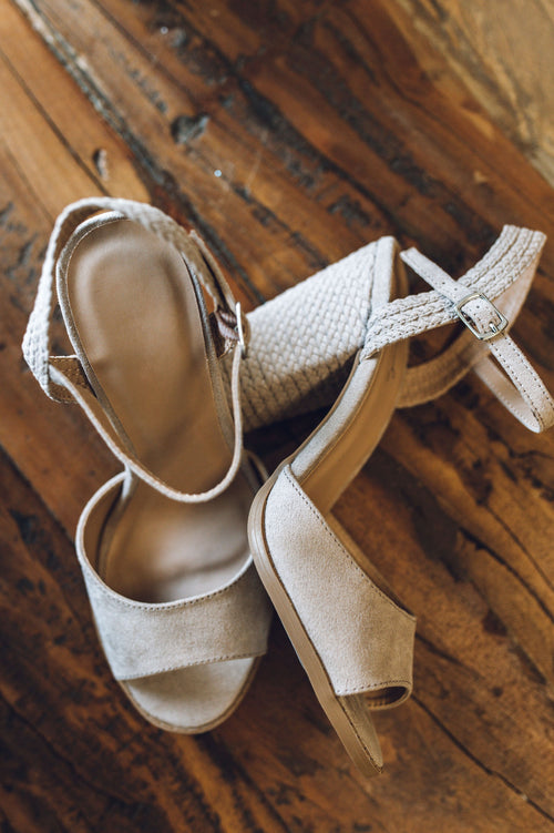 Woven With Style Heel