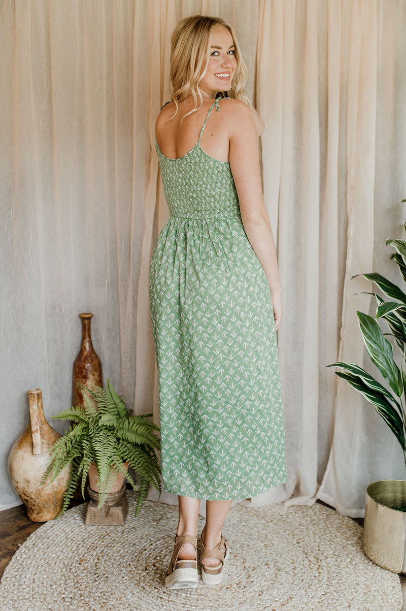 Lost in Palm Beach Dress