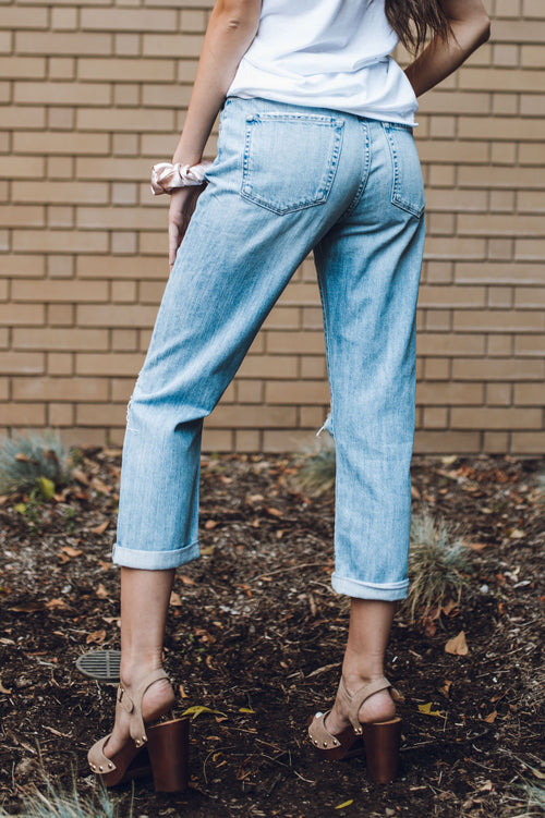 One Love Boyfriend Jeans