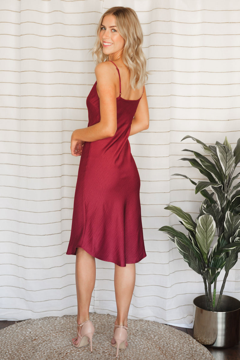 Only Yours Slip Midi Dress