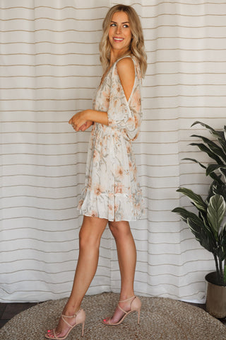 Flowers in Fall Dress