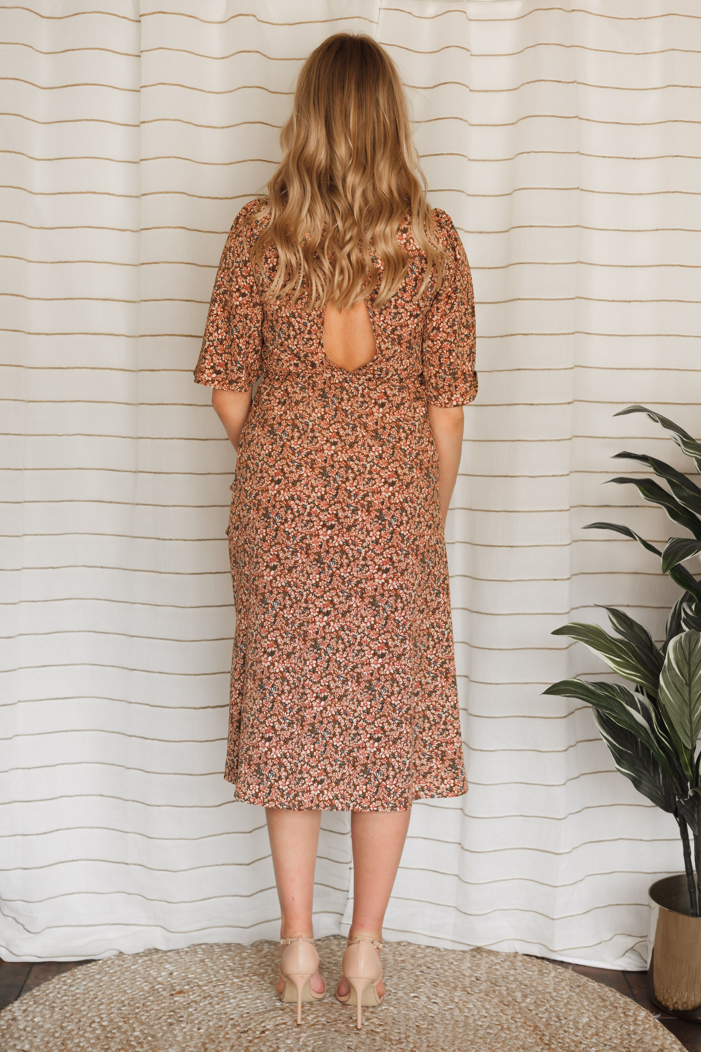Soothe My Soul Front Tie Dress