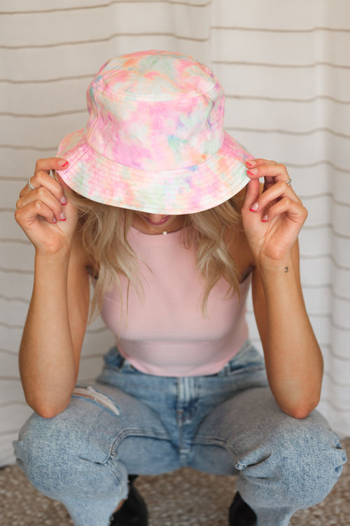 Tie Dye Girl Bucket Hat