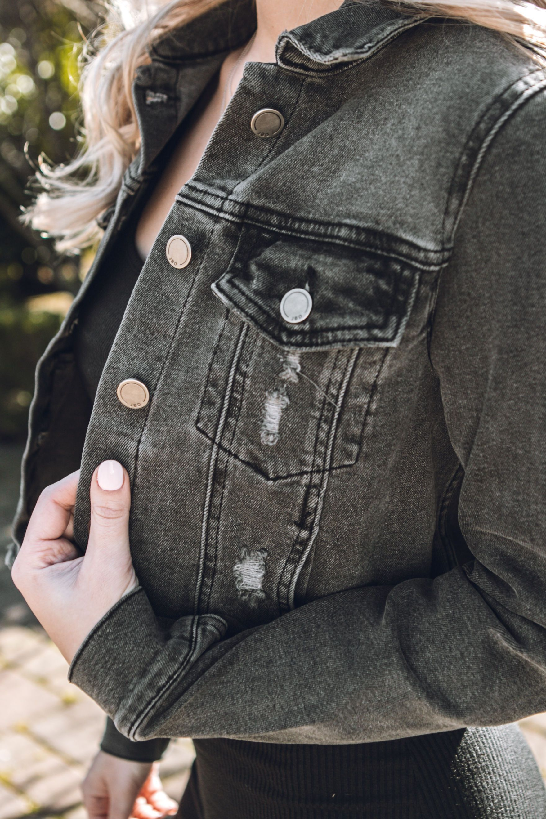 Imperial Frayed Denim Jacket
